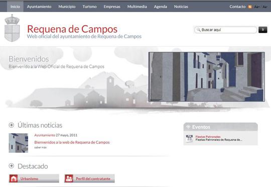 Bienvenidos a la web de Requena de Campos